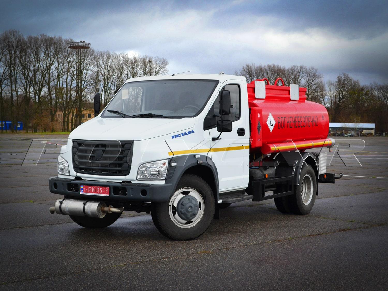 Ще один паливозаправник Polycar на базі ГАЗон NEXT.