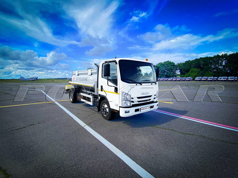 Новий варіант паливозаправника виробництва Polycar.