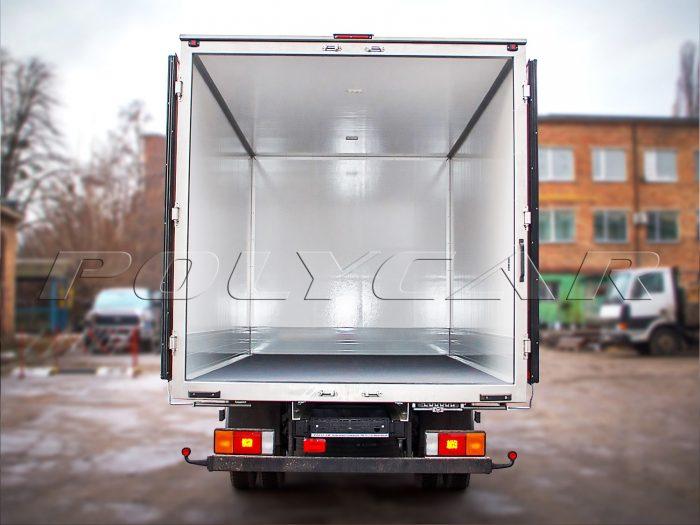 Производство изотермического фургона под заказ на Hyundai HD78.