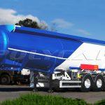 Цистерна для перевозки топлива.