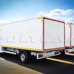 Партия хлебных фургонов производства Polycar.