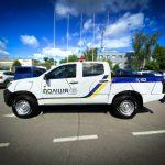 Полицейский пикап Isuzu D-Max.