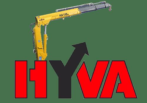 Кран-манипулятор Hyva HA 110.