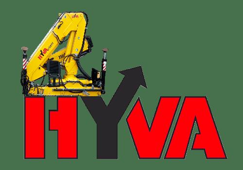 Hyva HB 100, купить кран манипулятор грузоподъемностью 2 тонны от официального представителя в Украине.