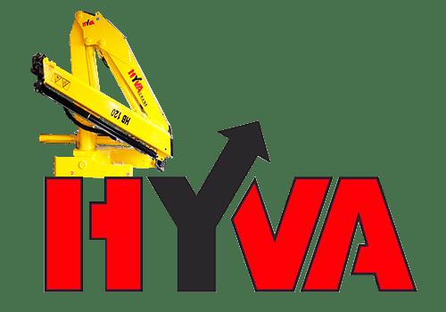 Hyva HB 120 - купить кран-манипулятор с грузоподемностью до 2,7 тонны в Украине.