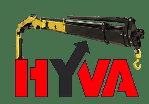 Hyva HB 160 кму с грузоподъемностью до 3,4 тонны.