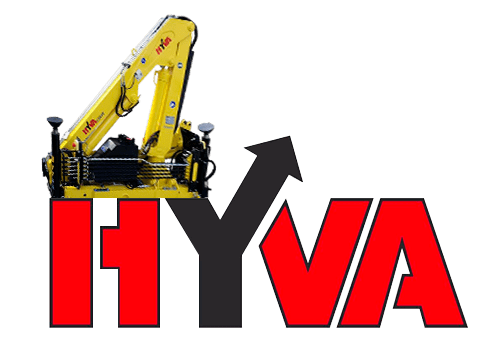 Манипулятор Hyva HB 40 с грузоподъемностью до 995 кг.