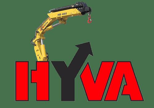 Hyva HB 460 - кран-манипулятор с грузоподъемностью до 10 тонн.