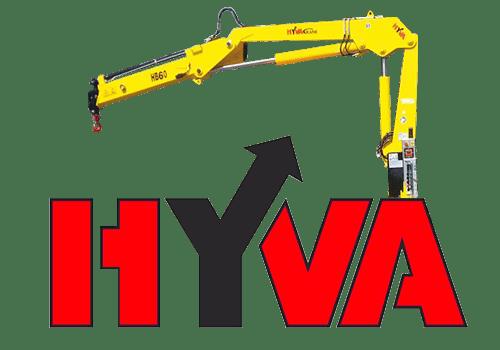Купить кран-манипулятор Hyva HB 60.