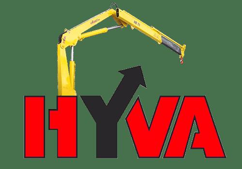 Hyva HB 70 кран манипулятор с грузоподъемностью до 1,86 тонны.