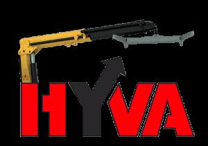 Манипулятор для эвакуатора Hyva HT212 с грузоподъемностью до 8 тонн.
