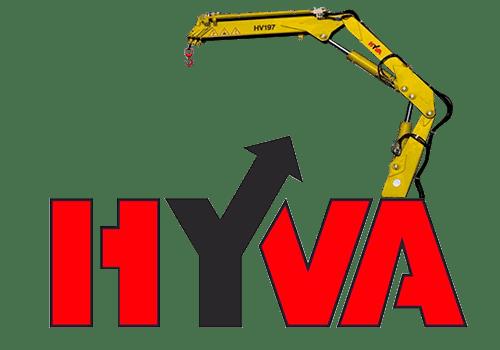 Hyva HV 197 манипулятор с грузоподъемностью до 4,7 тонны купить в Украине.
