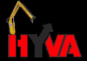 Hyva HV 77 - манипулятор с грузоподъемность 2 тонны.