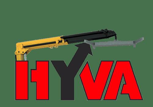 Купить кран-манипулятор Hyva HT 112 от официального дилера в Украине Polycar.