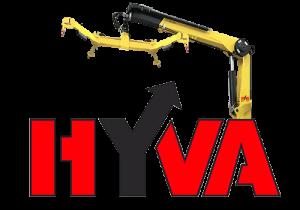 Кран-манипулятор Hyva HT 130.