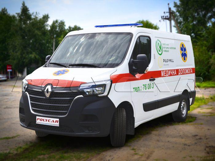 Купить санитарный автомобиль в Украине.