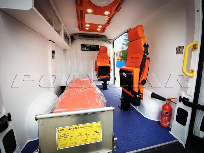 Купить санитарный автомобиль, производство под заказ в Polycar.