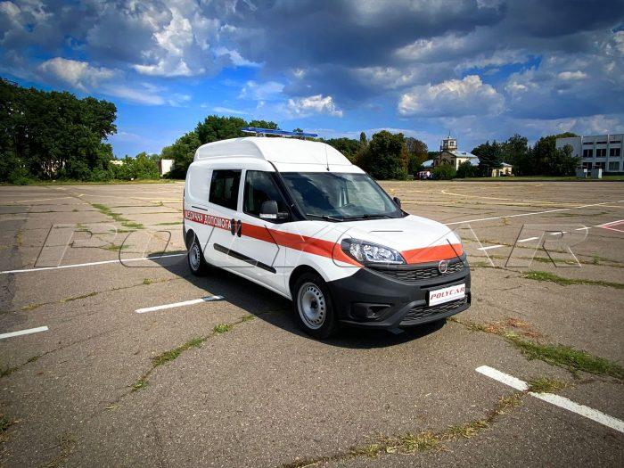 Санитарное авто Fiat Doblo.