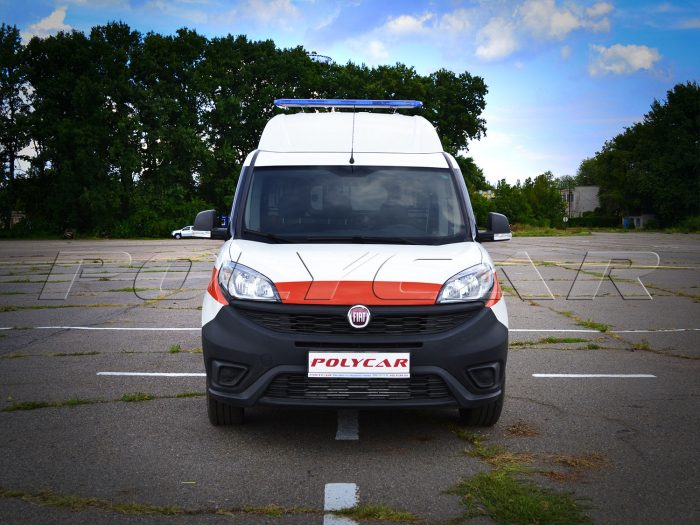 Fiat Doblo санитарный автомобиль производства Polycar.