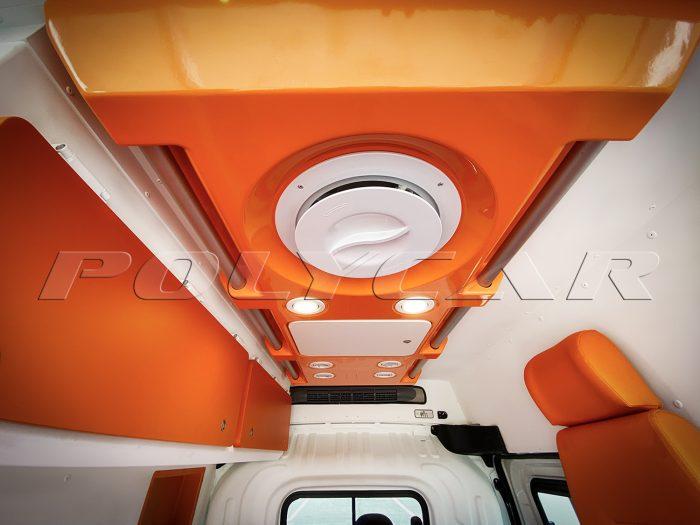 Система вентиляции сантираного авто.