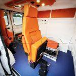 Кресла в санитарном автомобиле Polycar.